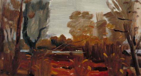 Damp Autumn 1941 by Ivon Hitchens 1893-1979