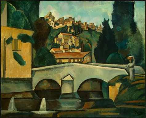 The-Old-Bridge-1910-by-Andre-Derain