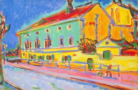 ernst-ludwig-kirchner-houses-in-dresden-1909-1910