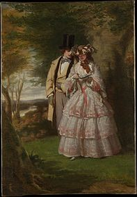 The_Two_Central_Figures_in__Derby_Day__-_William_Powell_Frith